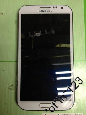 98% new SAMSUNG Galaxy NOTE II Note 2 N7100 白色 淨機 港行 自設門市 信心保證 有壞包退