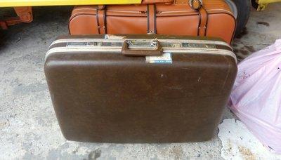 [Ov&O] 褐色骨董旅行箱 旅行袋 圖中兩個都有賣