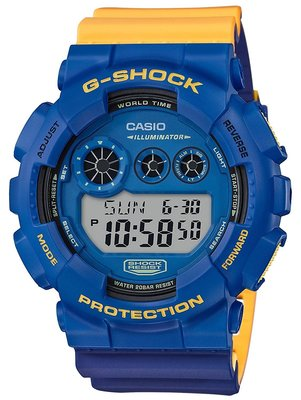日本正版 CASIO 卡西歐 G-Shock GD-120NC-2JF 手錶 男錶 日本代購