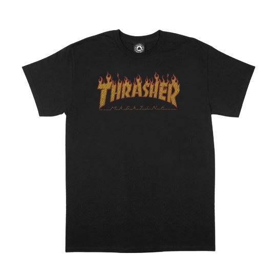 THRASHER FLAME HALFTONE S/S【HopesTaiwan】