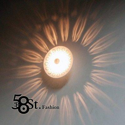 【58街】「孔雀光影壁燈」美術燈。復刻...