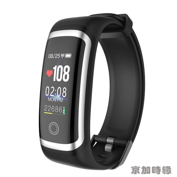 熱賣款智能手環M4男女彩屏連續心率血壓監測多功能運動手錶