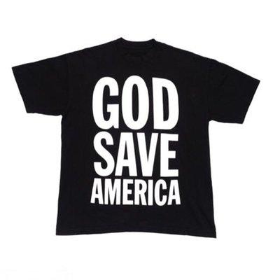 全新現貨 Kanye West 2020 support vote tee 侃爺競選短袖T恤
