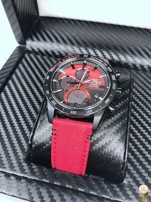 卡西歐 EDIFICE 本田F1 賽車限量太陽能藍芽牙運動手錶 EQB-1000HRS-1A 新北市