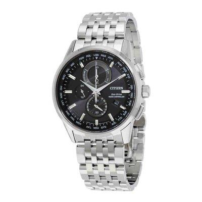 【換日線】男錶 Citizen World Chronograph A-T Eco-Drive Men's Watch AT8110-53E 台中市