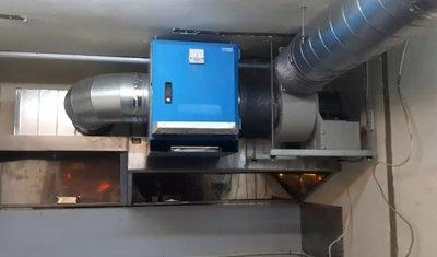 滙豐餐飲設備~中古/全新廚房風管工程/不銹鋼煙罩訂製/靜電油煙處理風管工程丈量施工/白鐵壁板/截油槽水溝工程