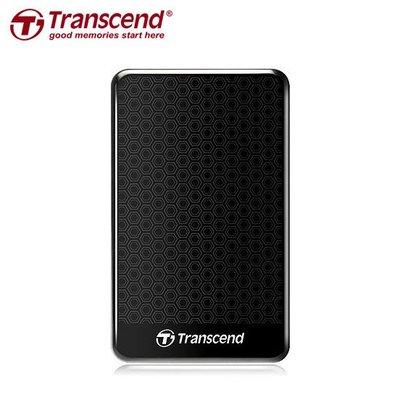 創見 1TB USB3.0 2.5吋 StoreJet 25A3 行動硬碟 台灣公司貨 (TS-25A3K-1TB)