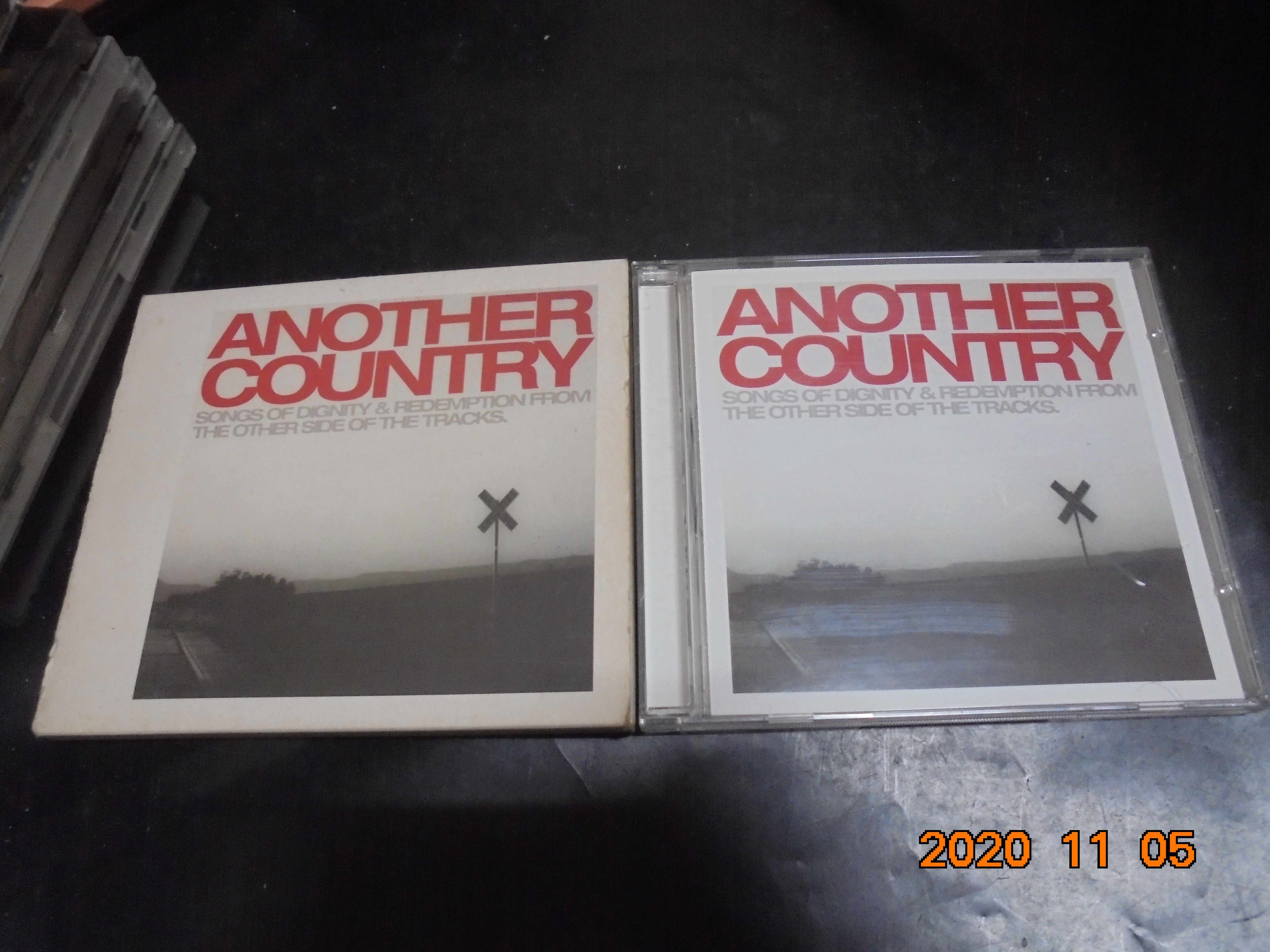 CD ANOTHER COUNTRY +紙盒