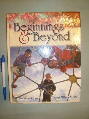 【 姜軍府】《Beginnings & Beyond》原文書 開端與超越第5版  基礎兒童教育 幼教
