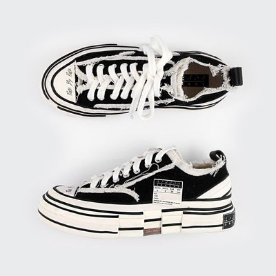 XVESSEL G.O.P LOW BLACK 解構鞋 XVESSEL001-歡迎選購
