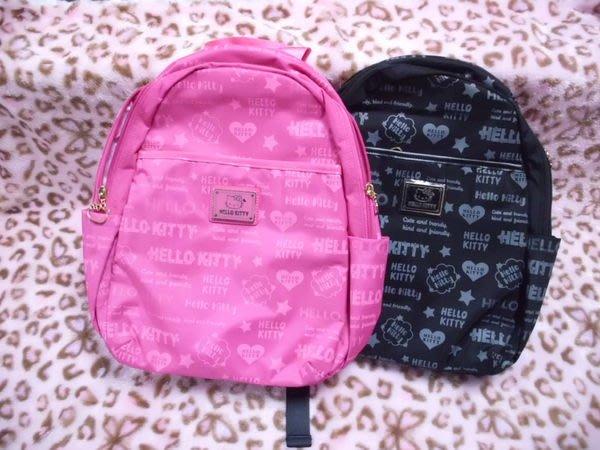 GIFT41 4165本通 三重店 凱蒂貓 HELLO KITTY KT - 甜蜜寶貝 包包 後背包 2款 黑 桃紅 kt00z05bk kt00z05fc