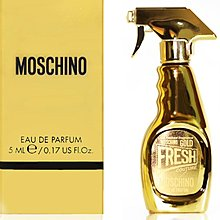 MOSCHINO FRESH GOLD EAU DE PARFUM  香精 香水 (5ml) 一件