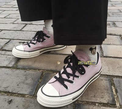 19S新款 CONVERSE ALL STAR 1970 粉紫 橘紅 西瓜紅 帆布 低筒 奶油底 三星標 休閒 男女鞋
