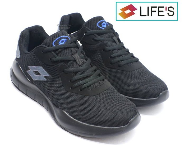 LOTTO 男款DYNAMIC 300運動休閒慢跑鞋  (黑 LT9AMR1150 )