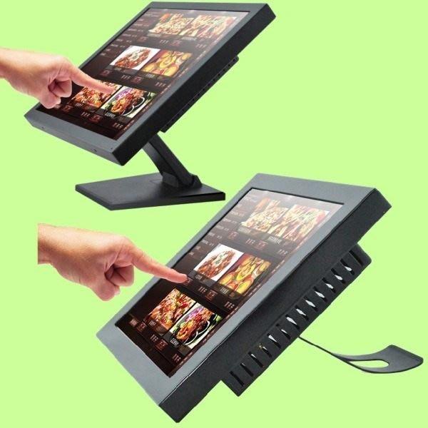 5Cgo【權宇】LGS朗歌斯 工業級紅外線觸控 超靈敏LCD銀幕螢幕一體機電腦/17吋/POS生產控制多媒體 含稅