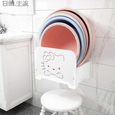 收納 浴室收納吉貴壁掛浴室置物架衛生間臉盆架洗手間廁所免打孔臉盆落地收納架