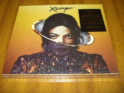 美版CD+DVD《麥可傑克森》超脫 豪華極致版/Michael Jackson: Xscape全新未拆