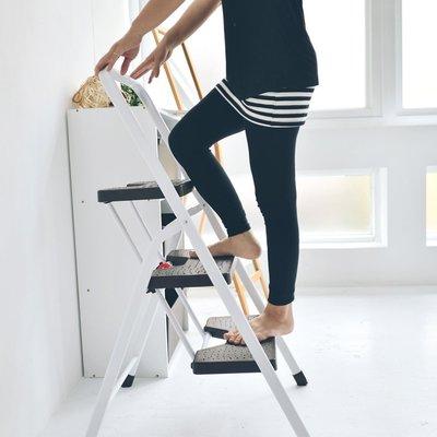 完美主義|三層折疊家用梯 樓梯椅 馬椅梯 A字梯 工具梯 收納梯 梯子【R0050】