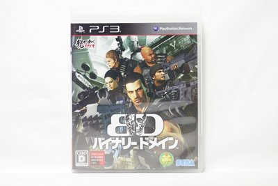 PS3 日版 二元領域 BINARY DOMAIN