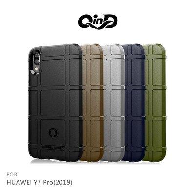 *phone寶*QinD HUAWEI Y7 Pro(2019) 戰術護盾保護套 背殼 防摔殼 手機殼 保護殼 鏡頭保護