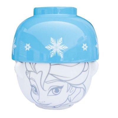 正版授權 日本 迪士尼 FROZEN 冰雪奇緣 艾莎 陶瓷碗組