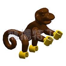 【飛揚特工】小顆粒 積木散件 動物 SNJ268 猴子 零件 配件(非LEGO,可與樂高相容)