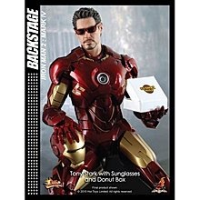 膠紙飛脫當開封品 內全新 Hottoys MMS123 Iron Man 2 鐵甲奇俠 2 Mark 4 IV tony stark 頭雕 avengers