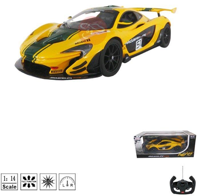 【阿LIN】302910 75000 1:14 McLaren P1 GTR 瑪琍歐 R/C 遙控汽車 麥拉倫