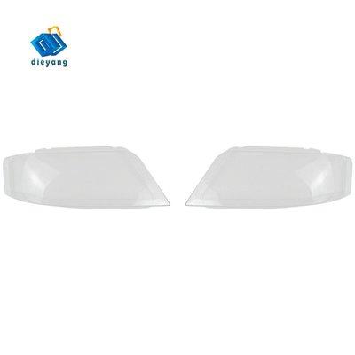呱啦呱啦代購 奧迪A6 C5的A6 C5透鏡透明燈罩大燈蓋透明塑料燈保護蓋玻璃蓋  1223