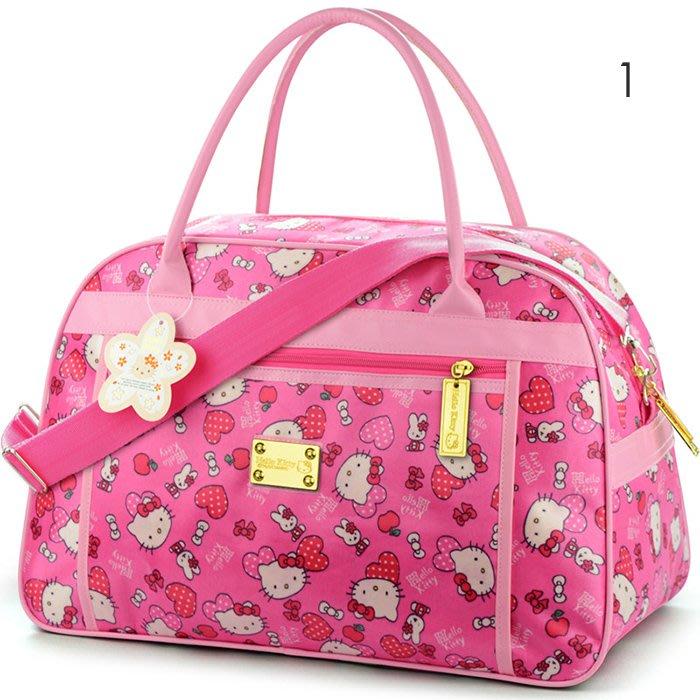 凱蒂貓Hello Kitty旅行袋手提袋登機包隨身行李袋防水行李袋手提包斜肩包單肩包