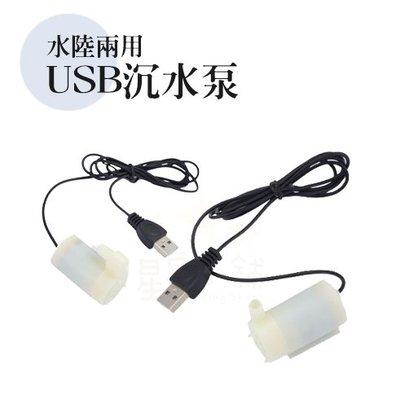 台灣出貨 USB沉水泵 水陸兩用 臥式...