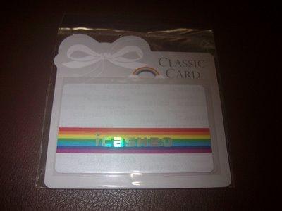 經典LOGO rainbow love icash2.0