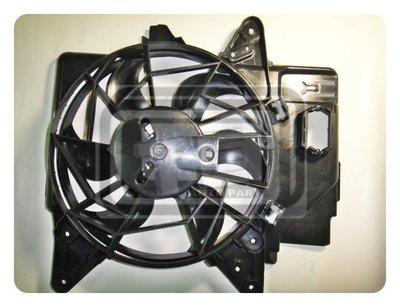 【TE汽配通】FORD 福特 ESCAPE TRIBUTE 03前 水箱風扇 水扇總成 台製外銷件