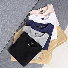 Jomi日韓 極簡時尚 歐美單圓領純色舒適彈力修身短袖T恤*5色預購【JM29-HI032703】