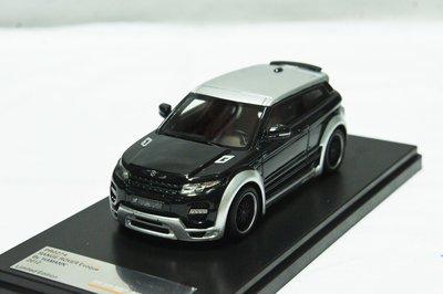 【超值特價】樹脂 1:43 Premium X Range Rover Evoque by Hamann 2012