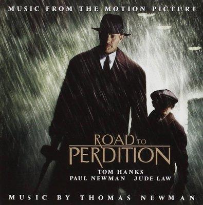 正版CD電影原聲帶《非法正義》/Road To Perdition Thomas Newman全新未拆