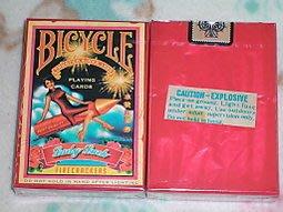 [808 MAGIC]魔術道具Bicycle FireCracker Playing Cards 鞭炮 撲克牌