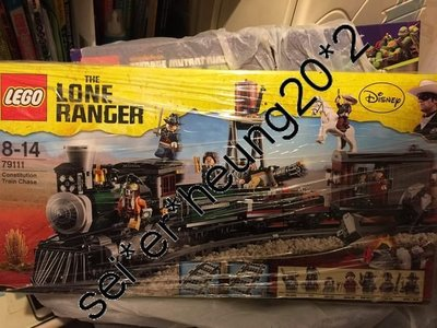 2盒 SALE!!! LEGO Lone Ranger batman Turtles Super heros MISB 76001 79111 79104 靚盒