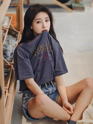 日和生活館 短袖女2019新款純棉體恤夏季圓領打底INS潮韓版上衣寬鬆百搭學生S686