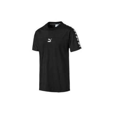 Puma 男款休閒短袖 黑色 59530901