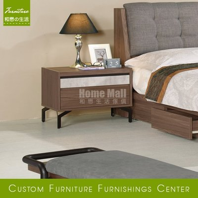 HOME MALL和懋傢俱~尼克1.8尺床頭櫃 $3400~(雙北市1-4F免運費)8C