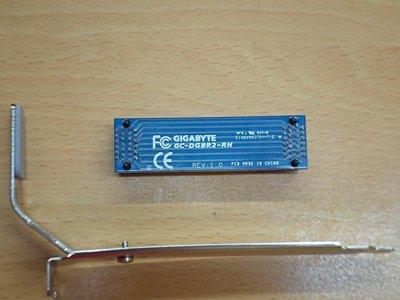 全新未拆 技嘉原廠 雙顯示卡橋接器 顯示卡 橋接線/橋接器/連接線/轉接線 技嘉/SLI (附送支撐固定架!!)