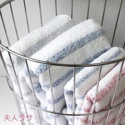 拉薩夫人◎日本代購◎日本 今治認證的毛巾 (BATH TOWEL)2條/組→款式(A)3種顏色 超值!! 熱賣中