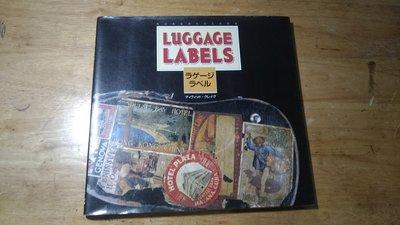 《字遊一隅》* Luggage Labels 行李標籤貼紙蒐羅  百餘種旅行黃金年代的紀念圖像    (B4)
