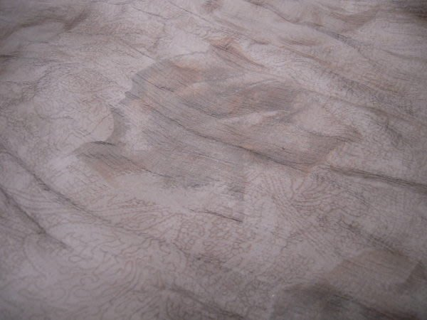 ※布箱子※日本100%純蠶絲印花雪紡紗(R287)