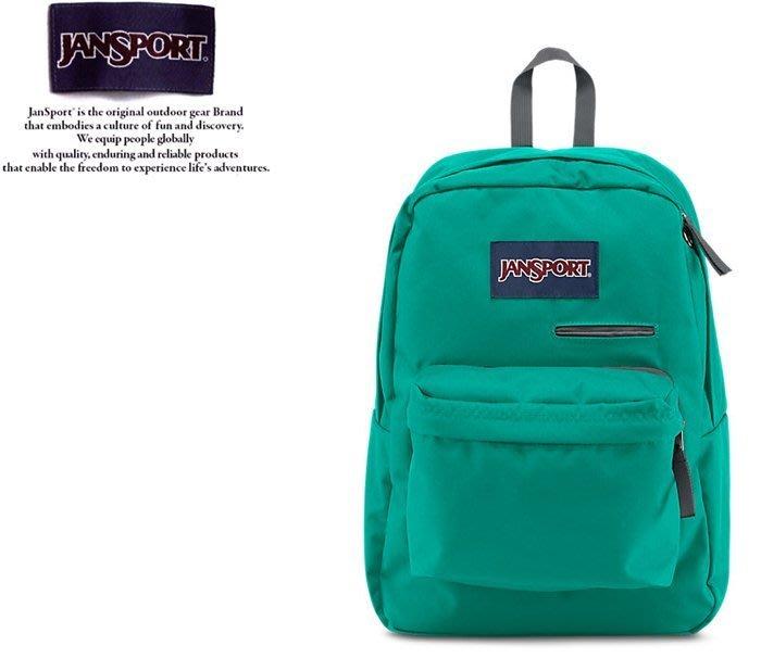 【橘子包包館】JANSPORT 後背包 DIGIBREAK JS-41550 孔雀藍