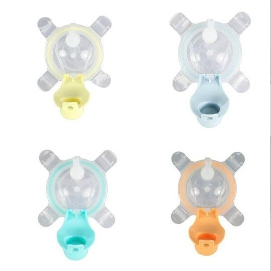 【魔法世界】美國 Kangovou 小袋鼠不鏽鋼安全兒童兩用杯 替換上蓋+吸管