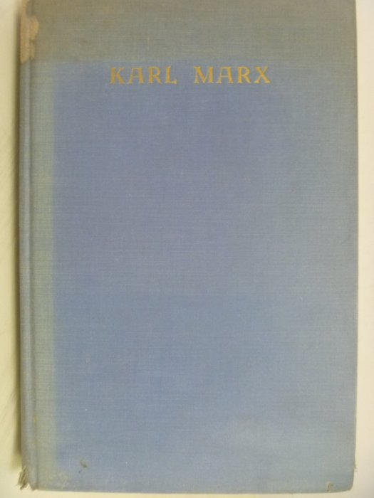 【月界二手書店】KARL MARX-HIS LIFE AND WORK_OTTO RUHLE_1935年〖外文書〗AFW