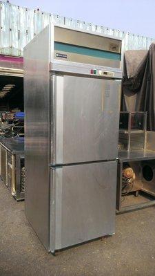 大台南冠均二手貨--白鐵304# 2門 營業用冷藏冰箱 插盤式冷藏麵糰發酵櫃 全冷藏冰箱 220V 出清特價~搶購要快~