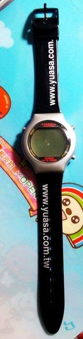 【全新】台灣湯淺 YUASA 千禧年紀念錶 (萬年曆/電話記憶)